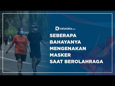 Seberapa Bahayanya Mengenakan Masker Saat Berolahraga?  Katadata Indonesia