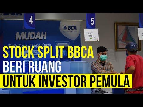 Sah! BCA Stock Split Oktober Mendatang