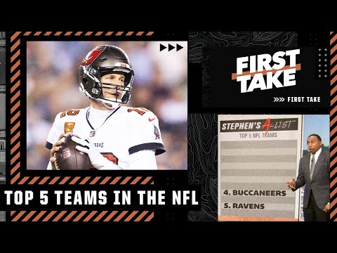 Stephen's A-List: The Top 5 NFL teams following Week 6 | First Take