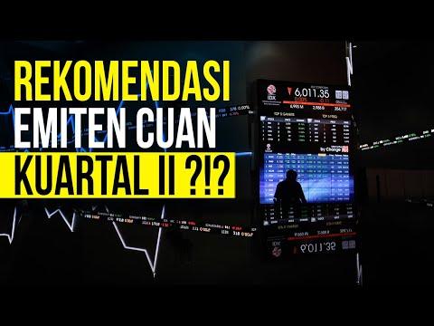 Prospek Saham Indeks LQ45 April  - Juni 2021