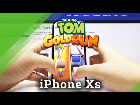 Talking Tom Gold Run on iPhone XS - iOS Gameplay & Performance Checkup