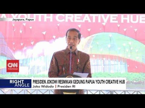 Presiden Jokowi Resmikan Gedung Papua Youth Creative Hub