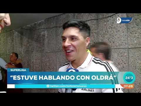 """Enzo Pérez: """"volvería a Godoy Cruz solamente si me lo pide Oldrá"""""""