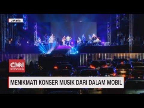 Menikmati Konser Musik dari Dalam Mobil