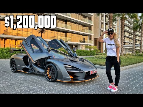 This hypercar has see-through doors | McLaren Senna