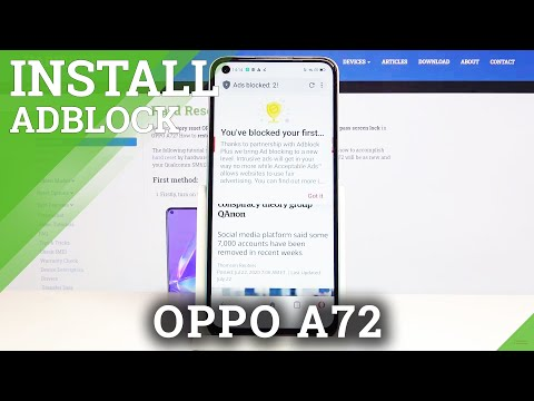 How to Enable Ad-blocking in Oppo A72 - Block Annoying Ads