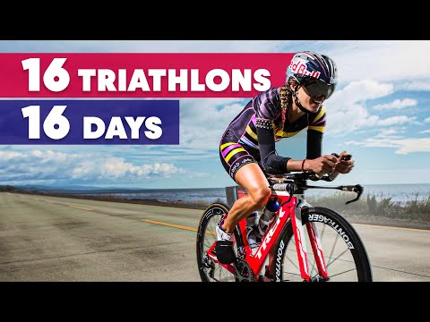 Can Valentina Carvallo Complete 16 Triathlons in 16 days?! | Red Bull