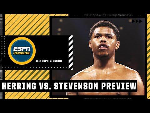 Andre Ward says both Shakur Stevenson & Jamel Herring have a lot to prove | ESPN Ringside
