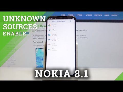 How to Allow Unknown Apps in NOKIA 8.1 – Allow Installing
