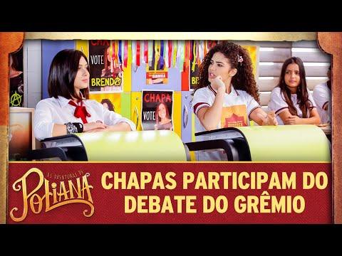 Chapas participam do debate para o grêmio | As Aventuras de Poliana