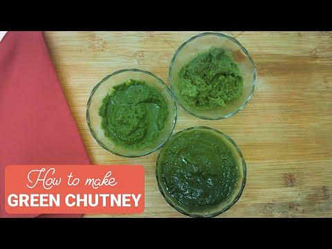 Gobble | How To Make Green Chutney | 3 Types of Chutney Recipes | चटनी बनाने का आसान तरीका