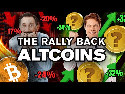 Panic!? No...I'm Buying the DIP w/ These ALTCOINs!