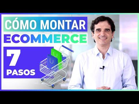 Montar Ecommerce Desde Cero en 7 PASOS - ¿Cómo crear tu tienda online?
