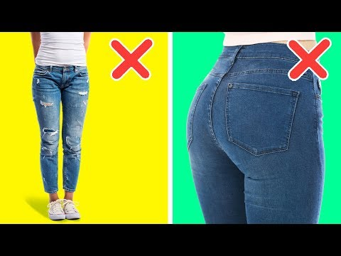 41 FASHION MISTAKES | CLOTHING HACKS AND THRIFTY IDEAS
