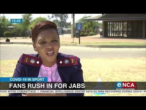 COVID-19 Vaccine | Sports fans rush in for jabs