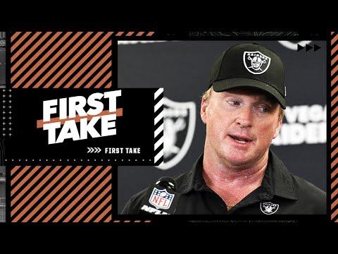 Stephen A. & Keyshawn agree Jon Gruden won't coach in the NFL again | First Take
