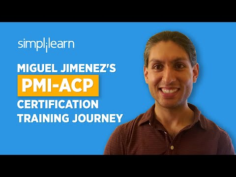 Immediate Success | Miguel Jimenez's PMI-ACP Certification Training Journey | Simplilearn Reviews