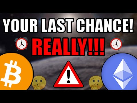 THE LAST CHANCE TO ACHIEVE LIFE CHANGING WEALTH FROM CRYPTOCURRENCY EMERGES! Bitcoin & Ethereum News