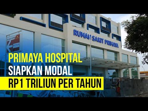 Bangun RS Baru, Primaya Hospital Siapkan Modal Rp1 Triliun Per Tahun