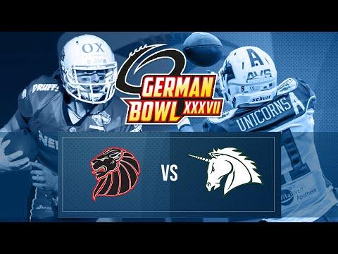 German Bowl History - 2015