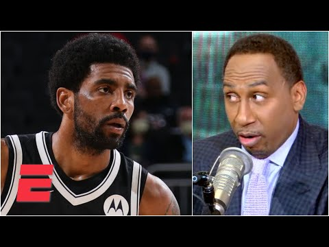 Stephen A. questions Kyrie Irving's commitment to the Nets   KJZ