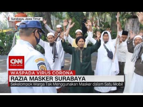 Razia Masker Surabaya, Kelompok Warga Justru Berzikir