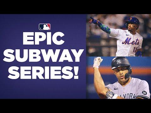 EPIC SUBWAY SERIES! Mets and Yankees play INTENSE games in Queens in late season series!