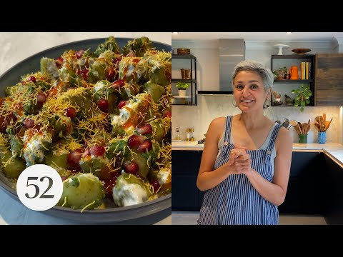 Chetna Makes Sour & Spicy Potatoes (Alu Chaat)   At Home With Us