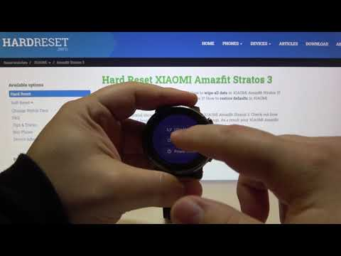 How to Perform Soft Reset in Xiaomi Amazfit Stratos 3 - Unfreeze Android Smartwatch