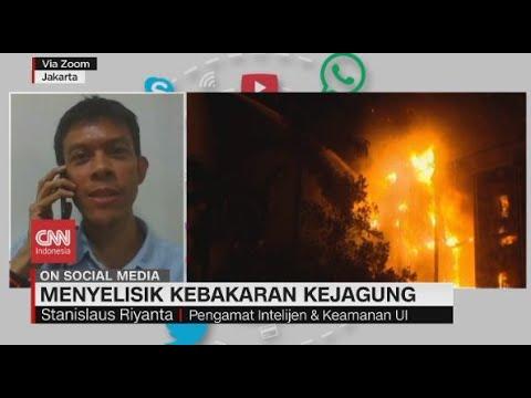 Menyelisik Kebakaran Kejagung