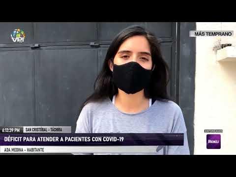 Táchira - Crisis sanitaria por pandemia se agudiza en San Cristóbal - VPItv