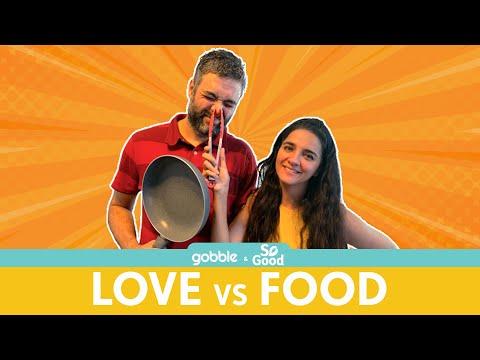Gobble | Love Vs Food | प्यार या खाना | Family Cook-off | Ft. Shruti Seth, Danish Aslam