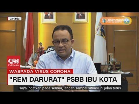 'Rem Darurat' PSBB Ibu Kota