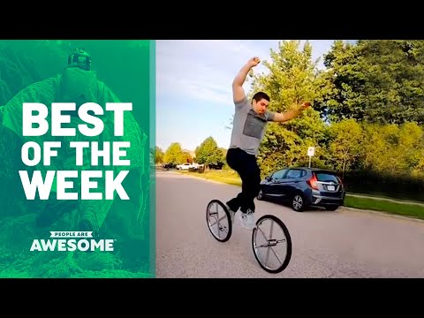Double Unicycle Tricks & More | Best Of The Week