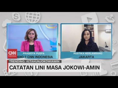 Catatan Lini Masa Jokowi-Amin