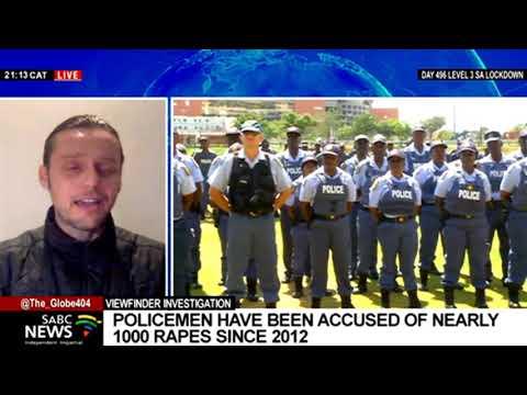 Viewfinder's report on SA policemen accused of rape: Daneel Knoetze