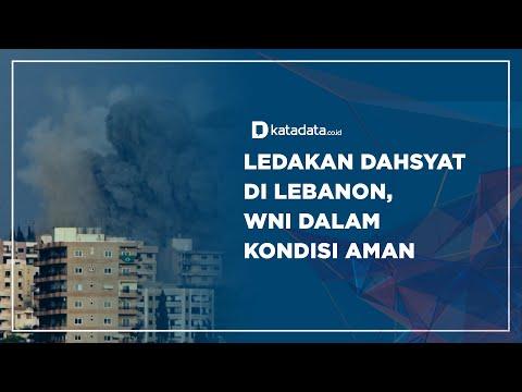 Ledakan Dahsyat di Lebanon, WNI dalam Kondisi Aman | Katadata Indonesia