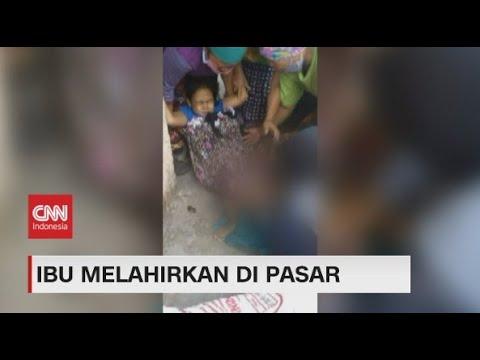 Dramatis, Bidan Militer Bantu Ibu Melahirkan di Pasar Pabean Surabaya
