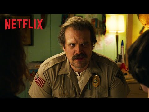 7 Things You Should NEVER Say to Hopper | STRANGER THINGS | Netflix