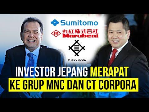 Investor Jepang Merapat Ke Grup MNC dan CT Corpora, Ada Apa?
