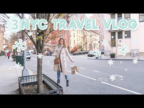 NYC Travel Vlog + What I Eat | VLOGMAS DAY 3