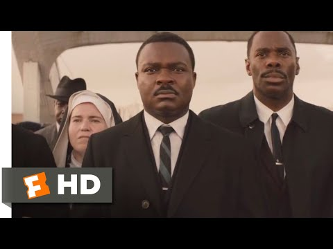 Selma (2014) - The Second March Scene (6/10) | Movieclips