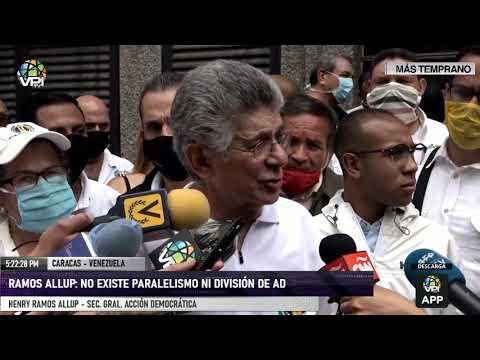 Caracas - Henry Ramos Allup: No sabemos que nos deparará el futuro, ojalá sea bueno - VPItv