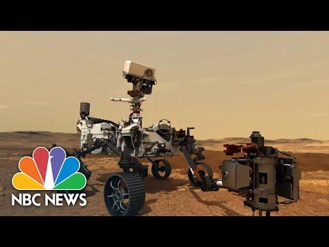 Former NASA Astronaut Mike Massimino On Perseverance Rover Mars Landing | NBC News NOW