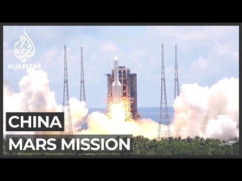 Tianwen 1: China launches first independent mission to Mars
