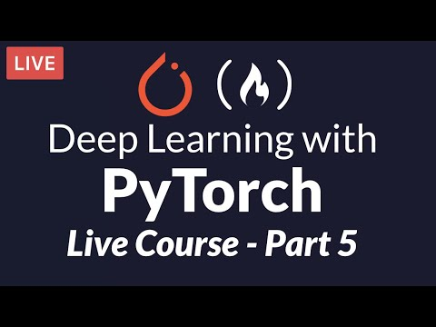 Deep Learning with PyTorch - Free Six Week Course [Part 5]