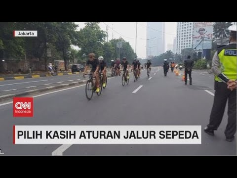 Pilih Kasih Aturan Jalur Sepeda
