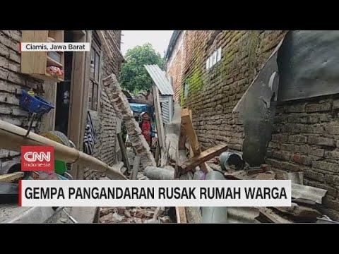Gempa Pangandaran Rusak Rumah Warga