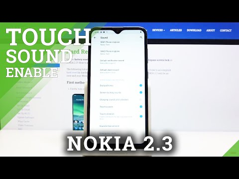 How to Enable Touch Sounds in NOKIA 2.3 - Disable Touch Tone