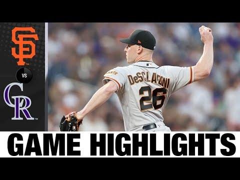 Giants vs. Rockies Game Highlights (9/25/21) | MLB Highlights